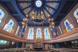 Mannheimer Synagoge, Gebetssaal - copyright by Jüdische Gemeinde Mannheim