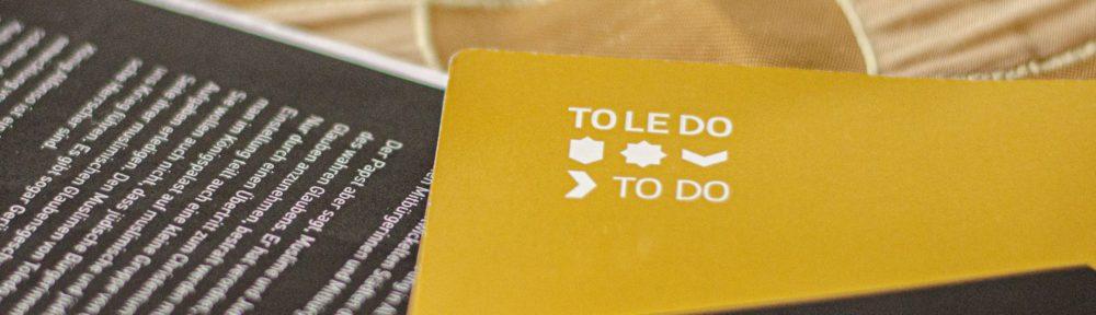 """Toledo to do"" -Planspiel by za;media"